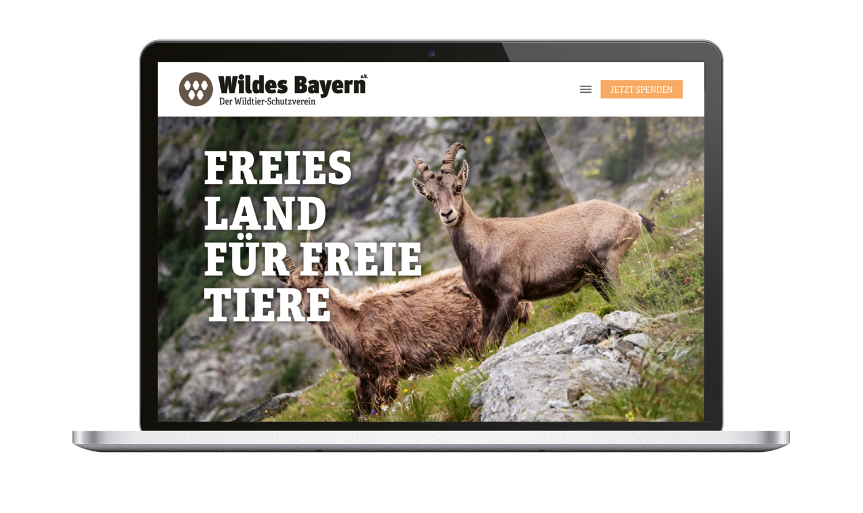Wildes Bayern Website
